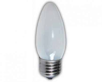Лампа накаливания Космос B35 E27 40W свеча матовая