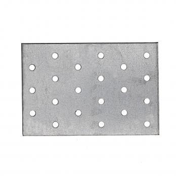 Пластина перфорированная оцинкованная  80х120х2,0мм