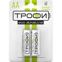 Батарейки ТРОФИ ECO LR6/316 BL2 2шт.