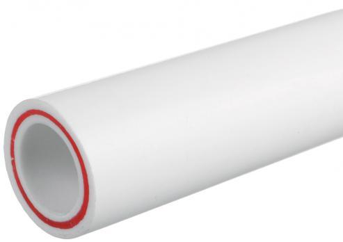 Труба полипропиленовая армированная стекловолокном 25мм*2000мм SDR6 КРОСС