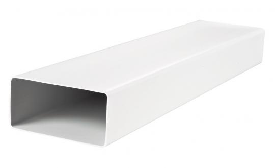 Воздуховод ВЕНТС пластиковый плоский 110*55*1000мм (5010)