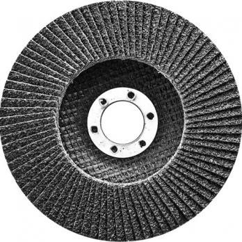 Круг лепестковый торцевой, конический, Р 40, 125 х 22,2 мм// СИБРТЕХ