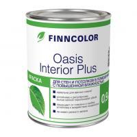 Краска OASIS INTERIOR PLUS A для стен и потолков влажных помещений 0,9 л Финнколор