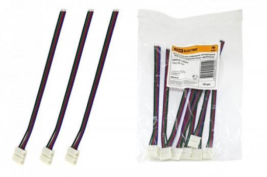 Коннектор для соединения светодиодных лент TDM RGB ленты с драйвером 10 мм