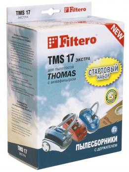 Мешки пылесборники Filtero TMS 17 (2+1) СТАРТОВЫЙ набор, для ТHOMAS