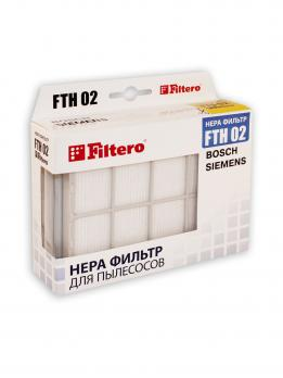 Фильтр для пылесосов Bosch,Siemens Filtero FTH 02 HEPA