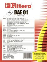 Мешки пылесборники Filtero DAE 01 (5) Standard_3