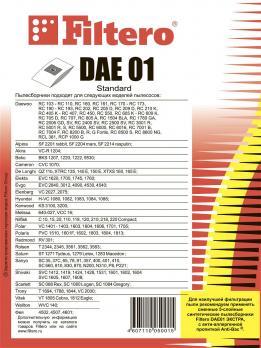 Мешки пылесборники Filtero DAE 01 (5) Standard