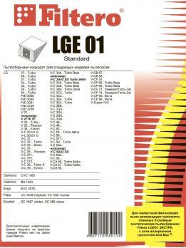 Мешки пылесборники Filtero LGE 01 (5) Standard