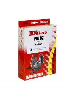 Мешки пылесборники Filtero PHI 02 (4) Standard