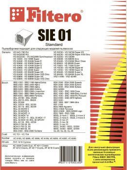 Мешки пылесборники Filtero SIE 01 (5) Standard