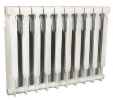 Радиатор 500 BIMETTA CITY, 10 секций (Биметалл)_0