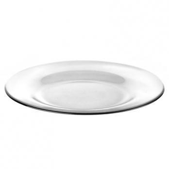 Тарелка мелкая стеклянная