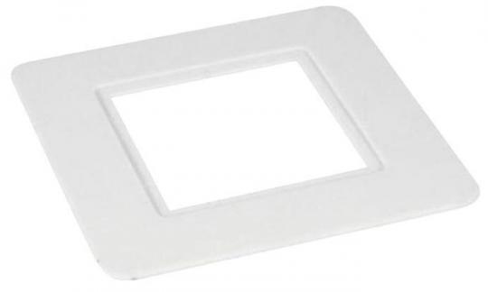 Защита стены под выключатель/розетку, одноместная, D140мм (Прозрачная)