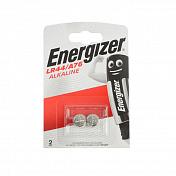 Батарейки щелочные ENERGIZER LR44 (L1154, AG13, A76) 1.5В 2шт.