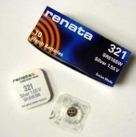 Батарейка Renata R321 BL1 (SR616SW) 1шт.
