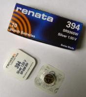 Батарейка Renata R394 G9 BL1 (SR936SW) 1шт.