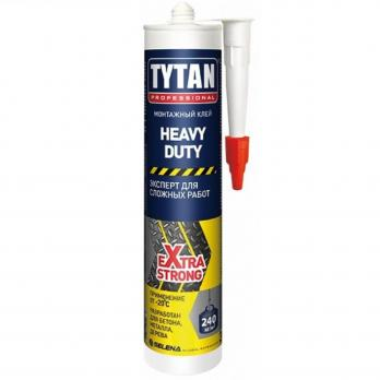 Клей монтажный HEAVY DUTY, 310 мл. бежевый TYTAN Professional