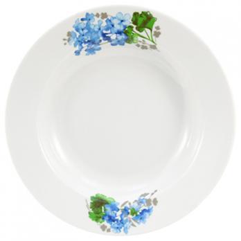 Тарелка глубокая фарфоровая