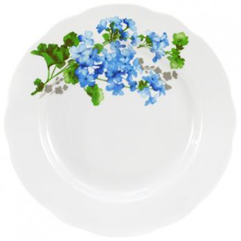 Тарелка мелкая фарфоровая