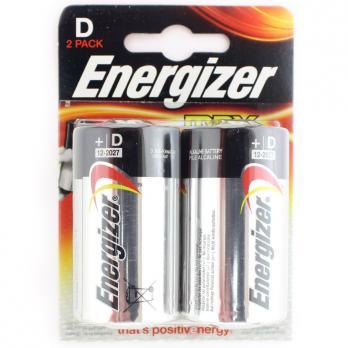 Батарейки щелочные ENERGIZER LR20 (D) MAX 1.5В 4шт.