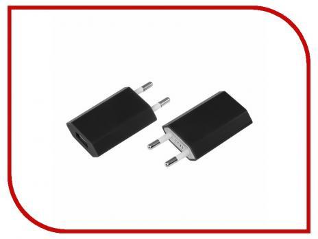 Сетевое зарядное устройство Rexant для iPhone USB 1A (Черный)