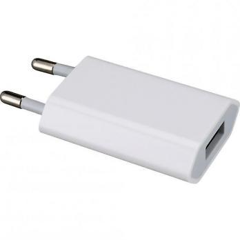 Сетевое зарядное устройство iPhone/iPod USB (5V, 1000 mA)