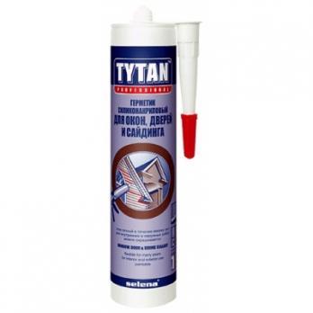 Герметик для окон, дверей, сайдинга белый 310 мл TYTAN Professional
