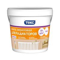 Эмаль Акриловая для радиаторов белая (полуглянцевая) 0,8л ТЕКС