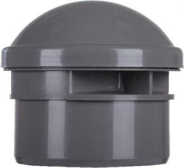 Клапан вакуумный канализационный (аэратор) d110мм (Синикон)