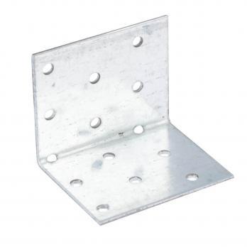 Крепежный уголок равносторонний оцинкованный 50х50х 60х2,0мм
