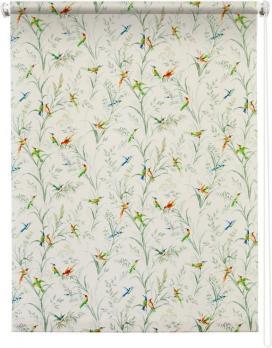 Рулонная штора 80х175 Парадиз (Белый)