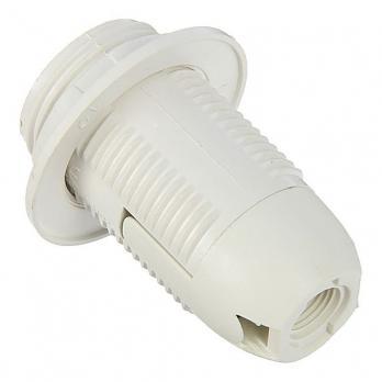 Патрон пластиковый с прижимным кольцом ASD Е14