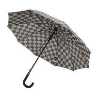 Зонт-трость мужской,10 спиц, 65см, металл, полиэстер (4 цвета)