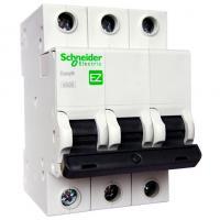 Автоматический выключатель Schneider EASY 9 3P 25А 4,5кА 230В