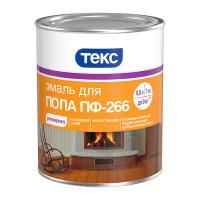 Эмаль ПФ-266 для пола (красно-коричневая) 1 кг ТЕКС