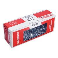 Саморезы для тонких пластин 4,2x16 (белый цинк 200 шт)