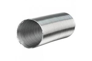 Воздуховод ВЕНТС гибкий алюминиевый гофрированный d100мм, 1-3м