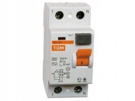 Устройство защитного отключения TDM ВД63 2P 40А 30мА