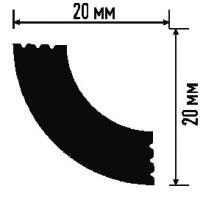 Плинтус A 20/20 (200) (потолочный) (Белый)