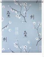 Рулонная штора 50х175 Япония (Серый)