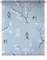 Рулонная штора 80х175 Япония (Серый)