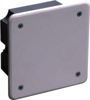 Коробка распределительная с крышкой IEK 92х92х45 СУ для твердых стен