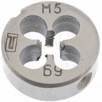 Плашка М5 х 0,8 мм// Сибртех