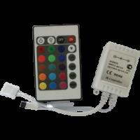 Контроллер с ИК-пультом для светодиодных лент Ecola 12V 72W 6A RGB