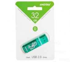 Флэш-диск USB 32Gb SmartBuy Glossy Green