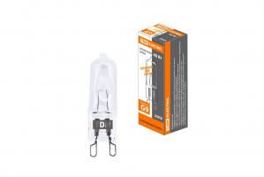 Лампа галогенная TDM JCD G9 230V 40W прозрачная