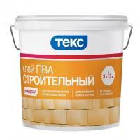 Клей ПВА строительный УНИВЕРСАЛ 3 кг КестоТЕКС