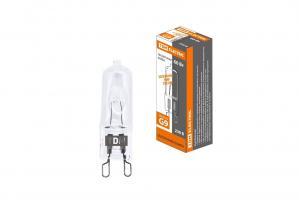 Лампа галогенная TDM JCD G9 230V 60W прозрачная