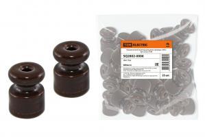 Керамический изолятор для ретро провода TDM «ЭКО» (Бук)
